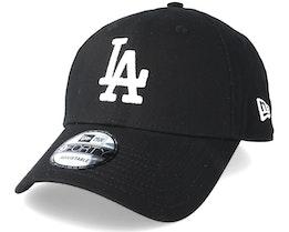Los Angeles Dodgers League Essential 9Forty Black Adjustable - New Era