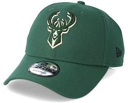 Milwaukee Bucks The League Green Adjustable - New Era