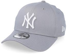 New York Yankees 39Thirty Grey/White Flexfit - New Era