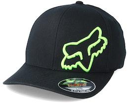 Flex 45 Black/Neon Green Flexfit - Fox