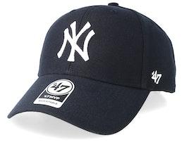 NY Yankees Mvp Home Navy/White Adjustable - 47 Brand