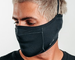Mask Fitted Blackout Face Mask - Oakley