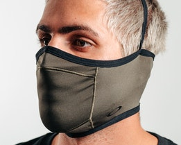 Mask Fitted New Dark Brush Face Mask - Oakley