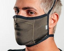 Mask Fitted Light New Dark Brush Face Mask - Oakley