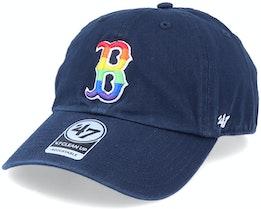 Boston Red Sox Pride Clean Up Navy/Rainbow Adjustable - 47 Brand