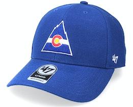 Colorado Rockies Vintage Colorado Rockies MVP Royal Blue Adjustable - 47 Brand