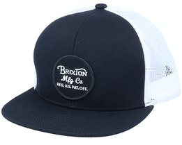 Wheeler Black/White Trucker - Brixton