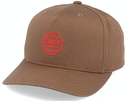 Oath 110 MP Hide Brown/Red Adjustable - Brixton