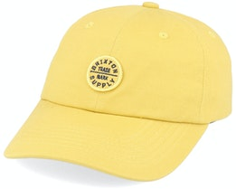 Oath LP Dad Cap Sunset Yellow Adjustable - Brixton