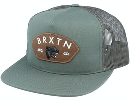 Waylon MP Cypress Green Trucker - Brixton