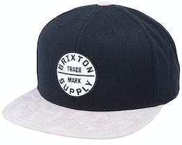 Hatstore Exclusive x Oath III Suede Snapback - Brixton
