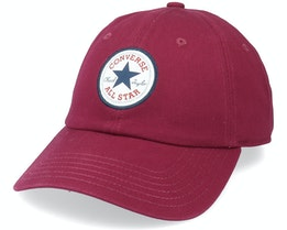 Tipoff Chuck Baseball Mpu Dark Burgundy Dad Cap - Converse
