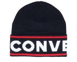 Sport Black/White/Red Cuff - Converse