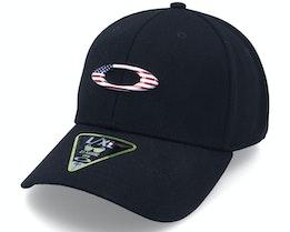 Tincan Black/American Flag Flexfit - Oakley