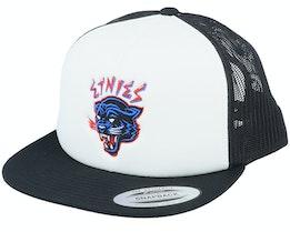 Panther Snapback White/Black Trucker - Etnies