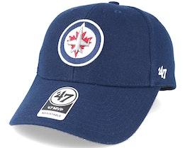 Winnipeg Jets Mvp Navy Adjustable - 47 Brand