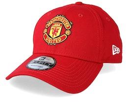 Manchester United Basic Scarlet 940 Adjustable - New Era