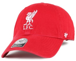 Liverpool FC Liverbird Clean Up Red Adjustable - 47 Brand