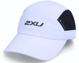 Light Speed Cap White/Black 5-Panel - 2XU