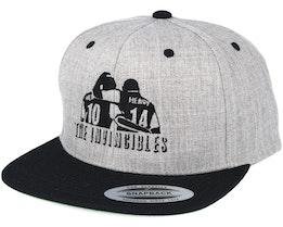Invincibles Grey/Black Snapback - Forza