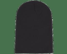 Long Beanie Black - Beanie Basic
