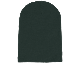 Long Beanie Bottle Green - Beanie Basic