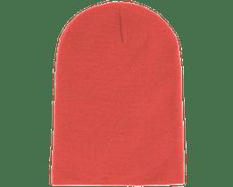 Long Beanie Coral - Beanie Basic