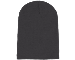 Long Beanie Graphite Grey - Beanie Basic