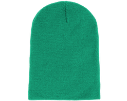 Long Beanie Kelly Green - Beanie Basic