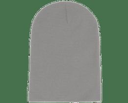 Long Beanie Light Grey - Beanie Basic