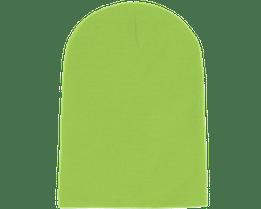 Long Beanie Lime Green - Beanie Basic