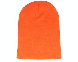 Long Beanie Orange - Beanie Basic