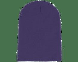 Long Beanie Purple - Beanie Basic