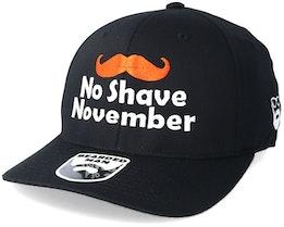 No Shave November Black Flexfit - Bearded Man