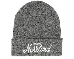 Great Norrland Dark Heather Grey Beanie - Sqrtn