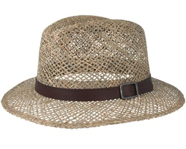 Tan Straw Hat - Headzone