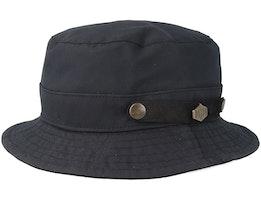 Max Wax Cotton W.P Black Bucket - MJM Hats