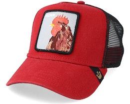 Plucker Baseball Cap Red/Black Trucker - Goorin Bros.