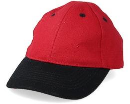 Kids Blank Infant Dark Red/Black Adjustable - Equip