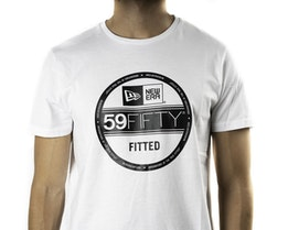 Essential Visor Sticker Tee White T-Shirt - New Era