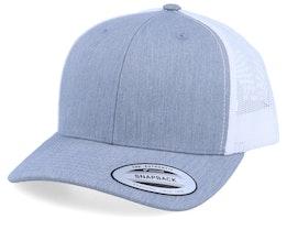 Grey/White Trucker - Yupoong