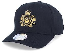 Golden Crest Black/Gold Adjustable - Bearded Man