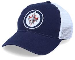 Winnipeg Jets Value Core Unstructured Navy/White Trucker - Fanatics