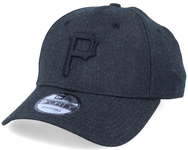 Pittsburgh Pirates Winterized The League Black/Black Adjustable - New Era