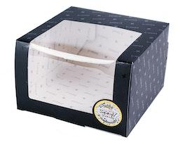 Looney Tunes Gift Box 12x20 CM Black - Capslab