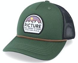 Kuldo Pine Green/Black Trucker - Picture