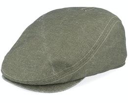 Frankie Savona Green Flat Cap - Mayser