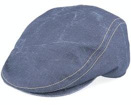 Frankie Savona Blue Flat Cap - Mayser