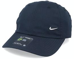 Metal Swoosh Cap Black Adjustable - Nike