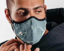 Antimicrobial Floral Face Mask - Brixton